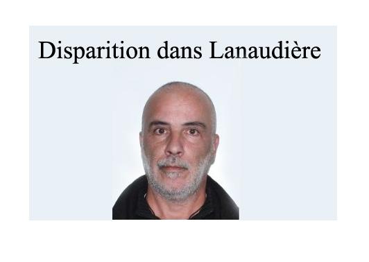 Disparition dans Lanaudière… Où est Didier Iralde ?