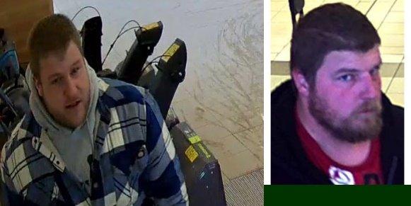 Suspects à identifier pour vol