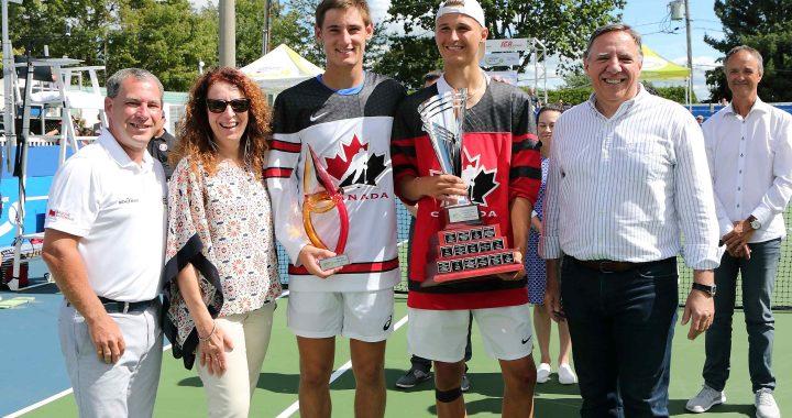 La Ville de Repentigny annonce l'annulation des Internationaux de tennis junior Banque Nationale