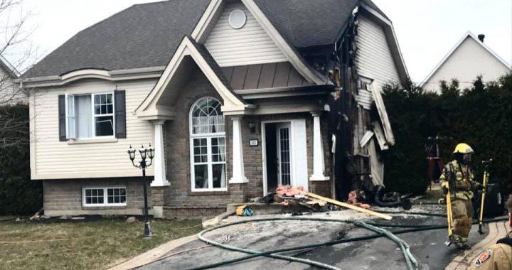 Le Gardeur : des cendres chaudes provoquent un incendie de résidence