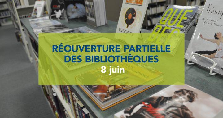 Réouverture des bibliothèques dès le 8 juin