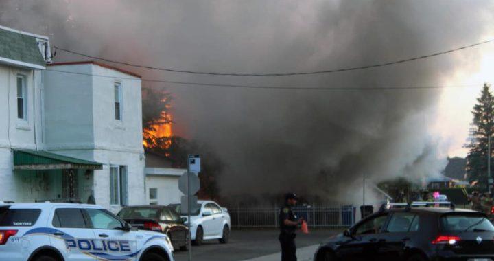 Mascouche : une maison centenaire détruite par un incendie
