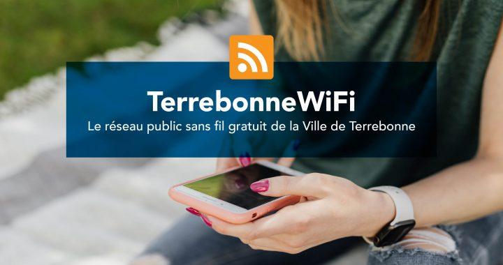 Bonification du réseau gratuit Terrebonne Wi-FI