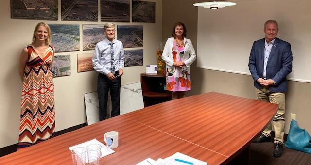 Chantal Deschamps amorce une tournée des entreprises avec CieNOV
