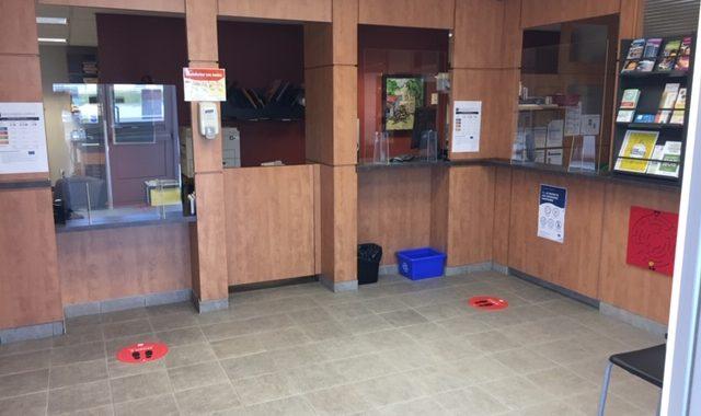 Réouverture du bureau d'accueil des citoyens de la direction du loisir et de la vie communautaire