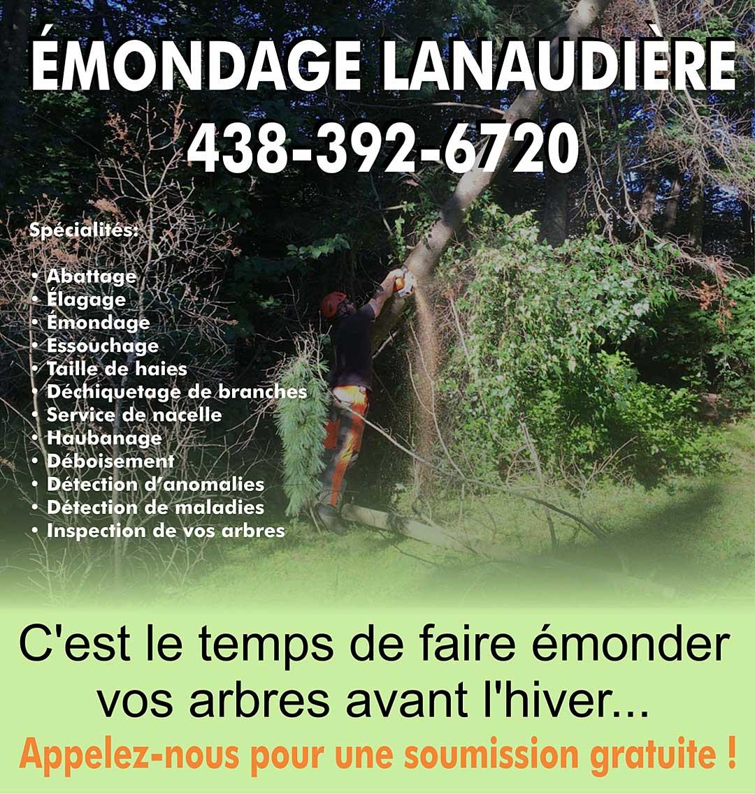 Émondage Lanaudière