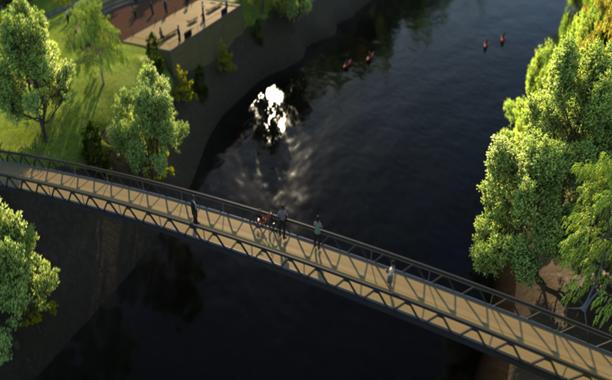 La Ville de L'Assomption bénéficiera d'anciennes poutres du pont Champlain pour sa future passerelle piétonnière