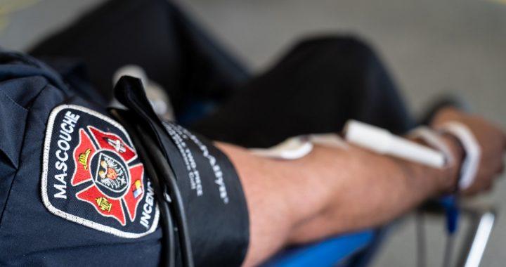 Cet automne, on se donne rendez-vous pour sauver des vies à la collecte de sang des pompiers de Mascouche