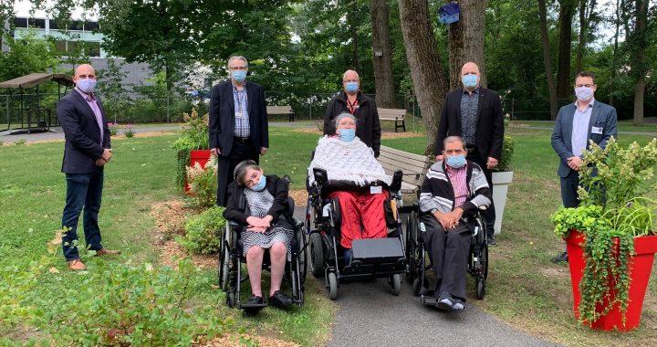 La Fondation Santé Sud de Lanaudière participe à l'inauguration du Jardin prothétique du Centre d'hébergement de Repentigny