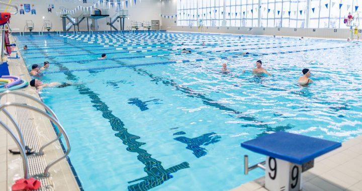 Limite de 50 personnes durant les cours aquatiques pour l'automne 2020