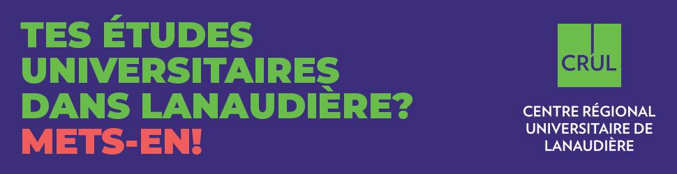Études universitaires dans Lanaudière