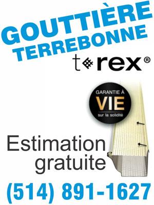 Gouttière Terrebonne